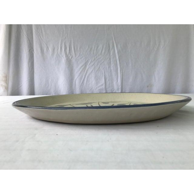 Vintage R. Brinker Handmade Stoneware Serving Platter - Image 3 of 5