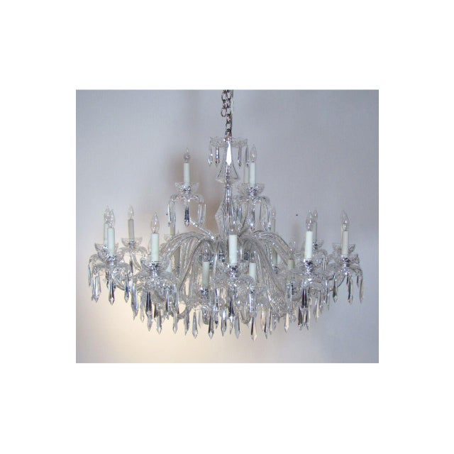 Large Waterford Chandelier For Sale In Boston - Image 6 of 10