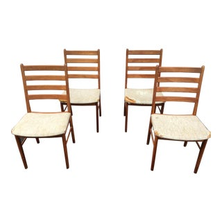 Ks Mobler Mid Century Danish Modern Dining Chairs - a Set For Sale