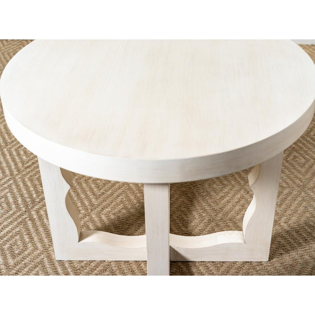 Mr & Mrs Howard Modern Cyma Reverse Table For Sale - Image 4 of 6
