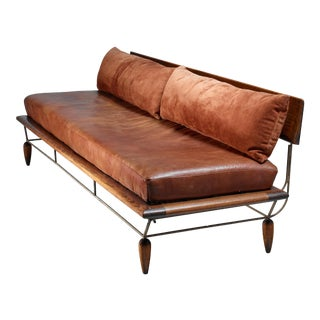 Allen Ditson unique sofa, USA, 1960s For Sale