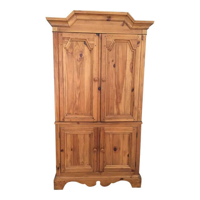Ethan Allen Wooden Armoire - Image 1 of 9