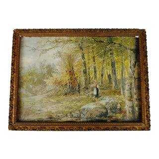 """""""Maiden in Forest"""" Framed Print For Sale"""