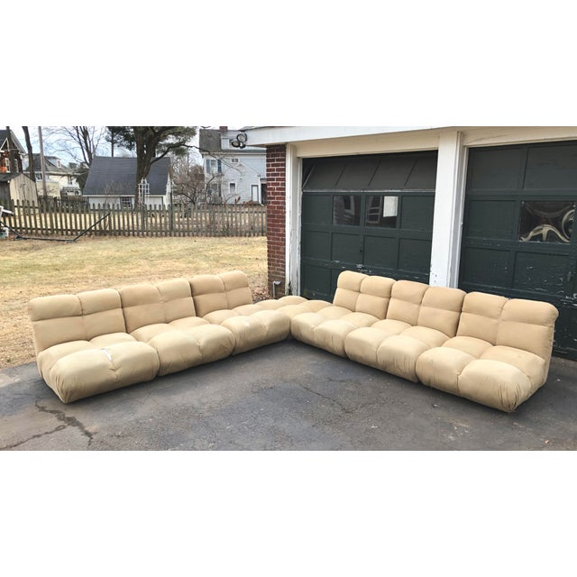 1970s Vintaeg Mario Bellini Camaleonda Style Modular Sofa For Sale - Image 13 of 13
