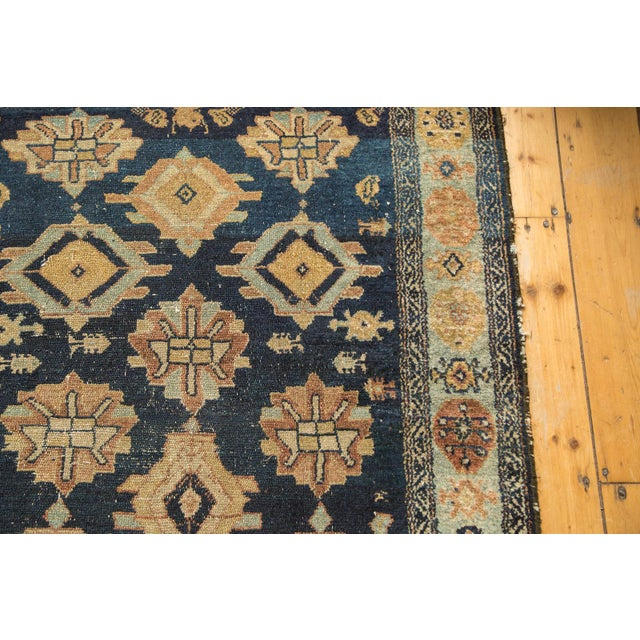 "Textile Antique Malayer Rug Runner - 3'8"" x 6'10"" For Sale - Image 7 of 10"