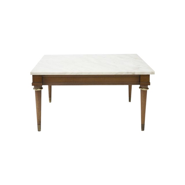 Mid century marble coffee table chairish for 0co om cca 9 source table