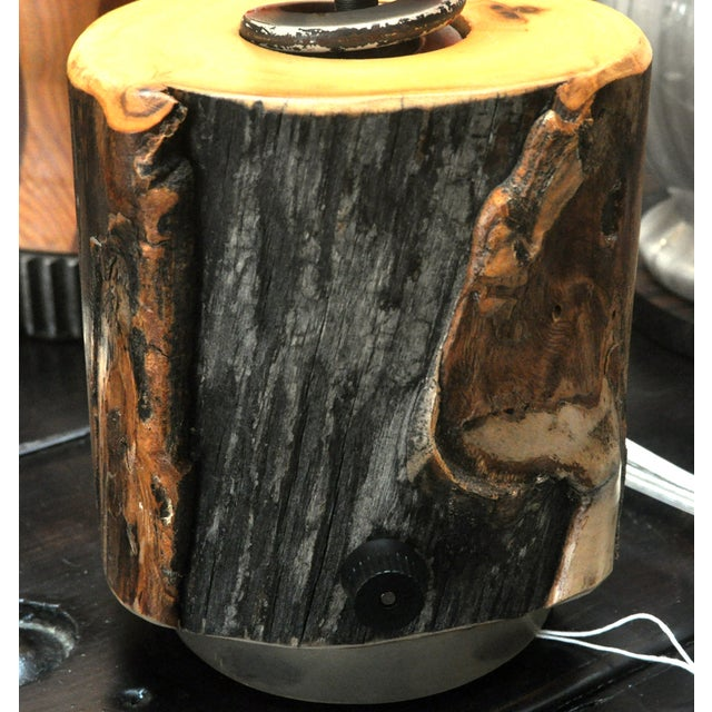 Ted Harris Stump Lamp - Image 2 of 4