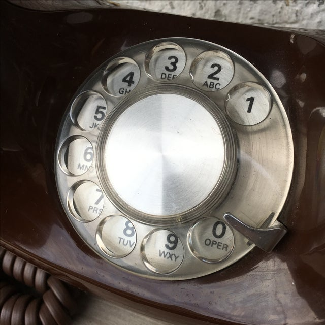 Midcentury Western Electric Donut Touch Tone Phone - Image 3 of 7