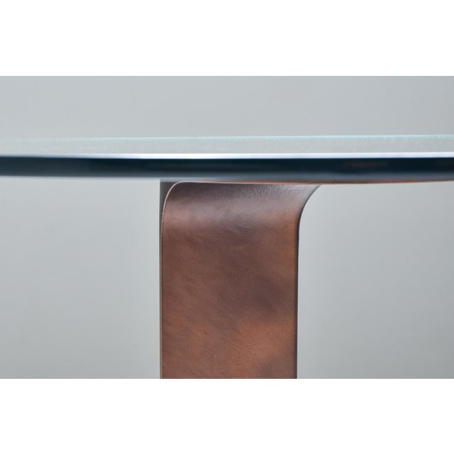 Bronze 1970s Afra & Tobia Scarpa Bronze Table Tl59 For Sale - Image 8 of 13