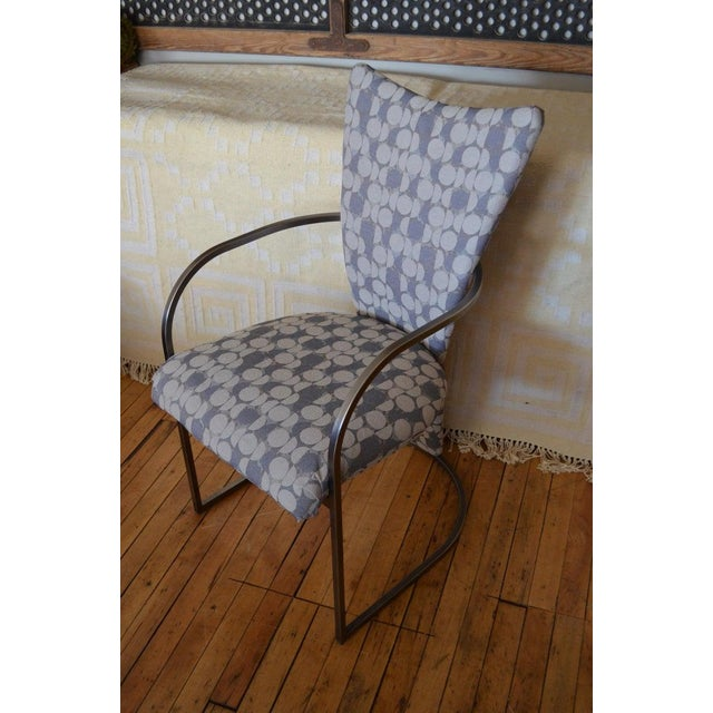 1960s Dining Chairs, Set of 4, by Design Institute America, Midcentury, Reupholstered For Sale - Image 5 of 13