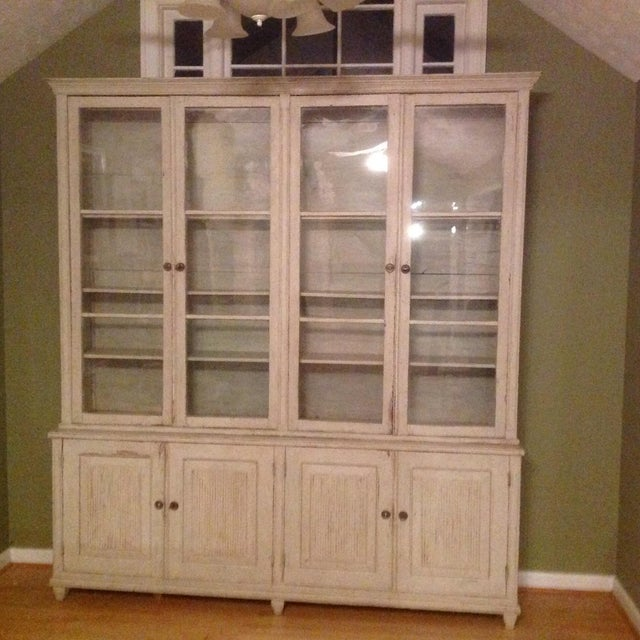 Gustavian Book Case Cabinet - Image 5 of 7