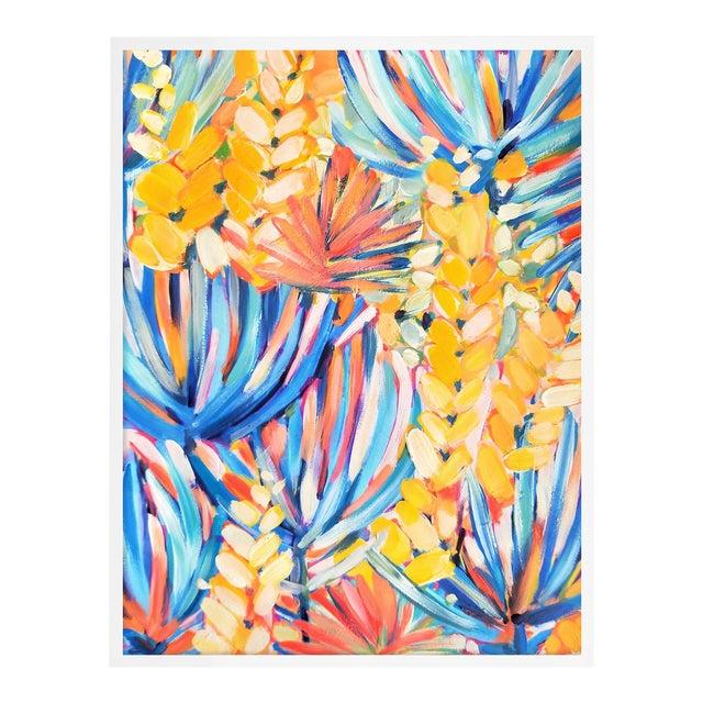 Clifton by Lulu DK in White Framed Paper, Medium Art Print For Sale