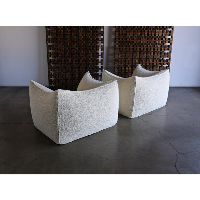 "Mario Bellini "" Le Bambole "" Lounge Chairs for B&b Italia, Circa 1985 - a Pair For Sale - Image 9 of 13"