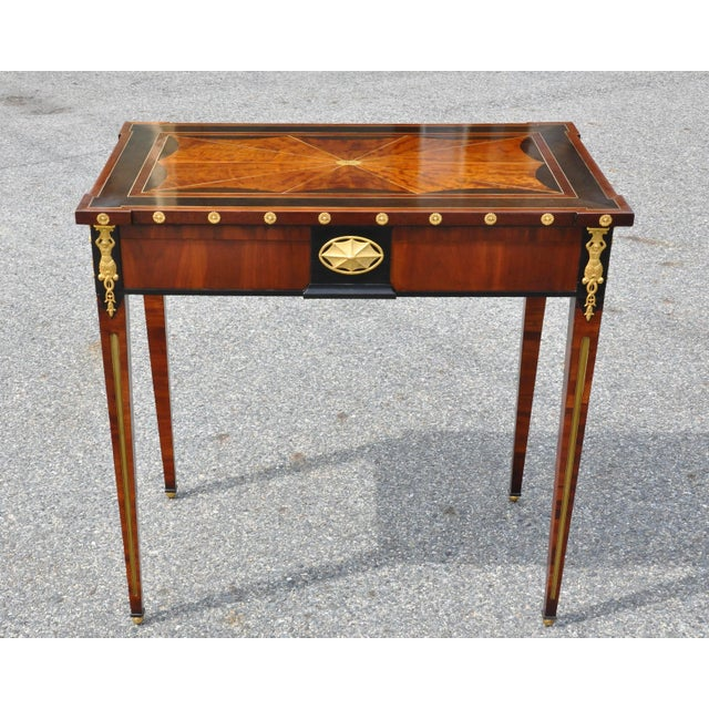 Early 19th Century Early 19th Century Russian Neoclassical Table With Planter Insert For Sale - Image 5 of 8