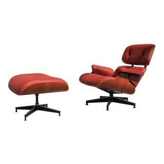 Eames Custom Lounge Chair & Ottoman