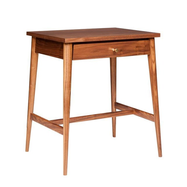 Mn originals walnut nightstand newly remade from Paul McCobb's Planner Group line. Walnut construction, all handmade to...