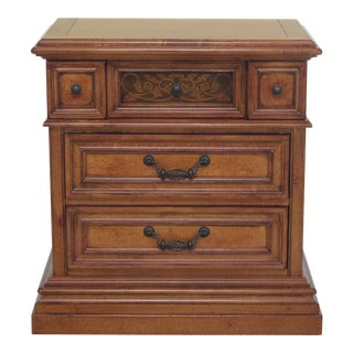 Stanley 3 Drawer Continental Style Chest For Sale