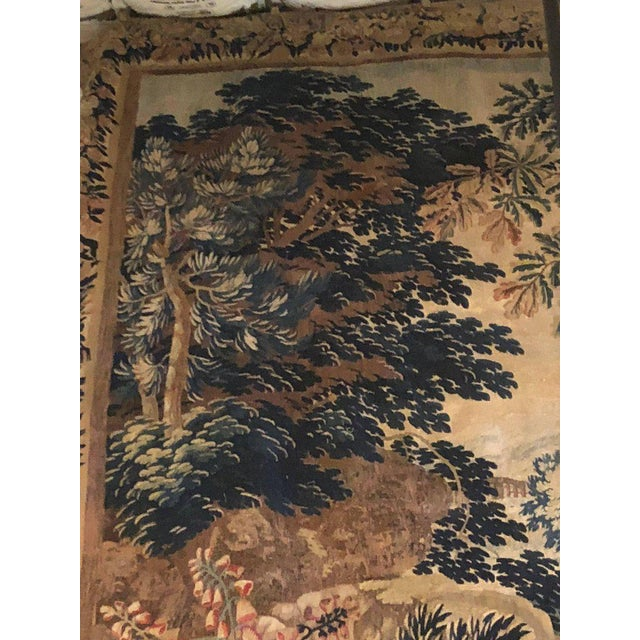 A 17th / Early 18th Century Flemish Pastoral Tapestry Prov. Christies NYC. For Sale In New York - Image 6 of 12