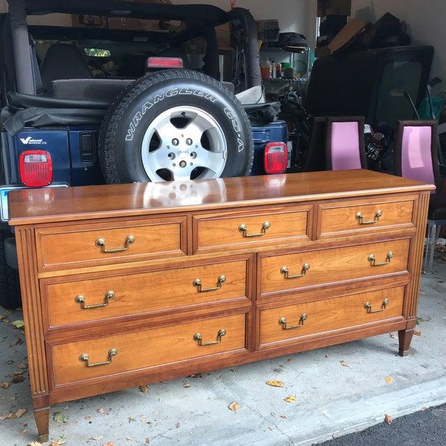 Vintage Kindel Belvedere Cherry Dresser - Image 2 of 10