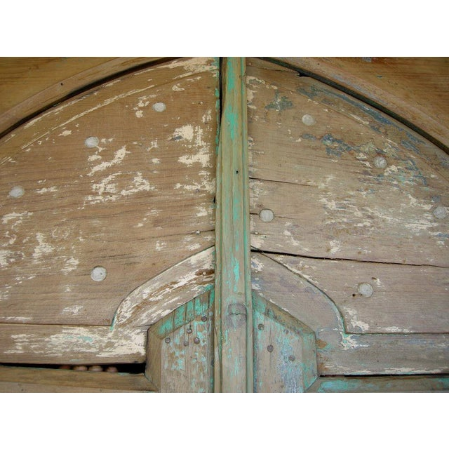 Pair of Antique 19th Century Painted Portons - Large Doors - Image 5 of 9