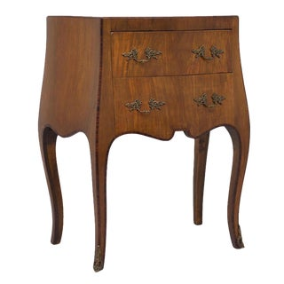 Vintage Italian Small Rosewood & Walnut Commode / Chest