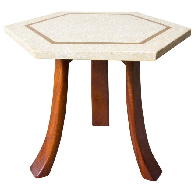 Harvey Probber Hexagonal Side Table For Sale In New York - Image 6 of 6