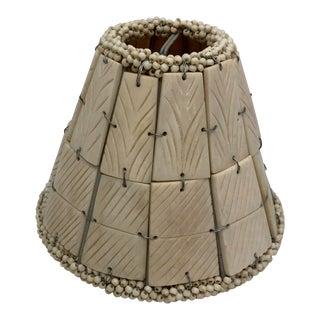 Handmade Bone Lampshade