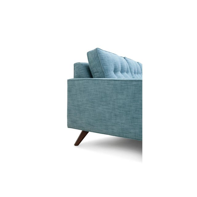 Mid-Century Modern Clad Home Mid-Century Style Tufted Sectional For Sale - Image 3 of 4