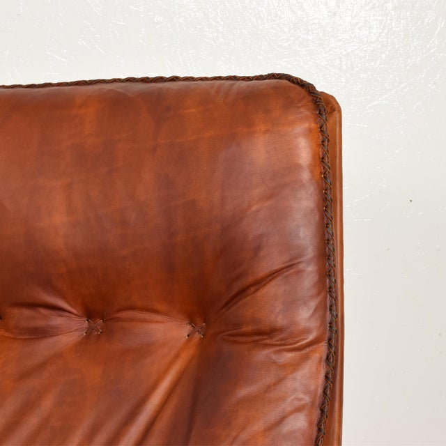 Mid Century Modern Pair of James Bond Arm Chairs by De Sede, Model S 231 For Sale - Image 9 of 11