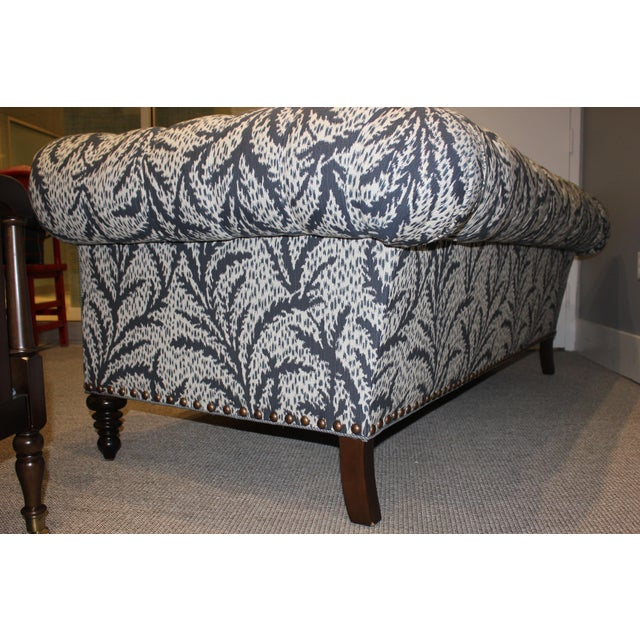 2010s Modern Robert Allen Duralee Group Tufted Back Hutana-Sofa For Sale - Image 5 of 6