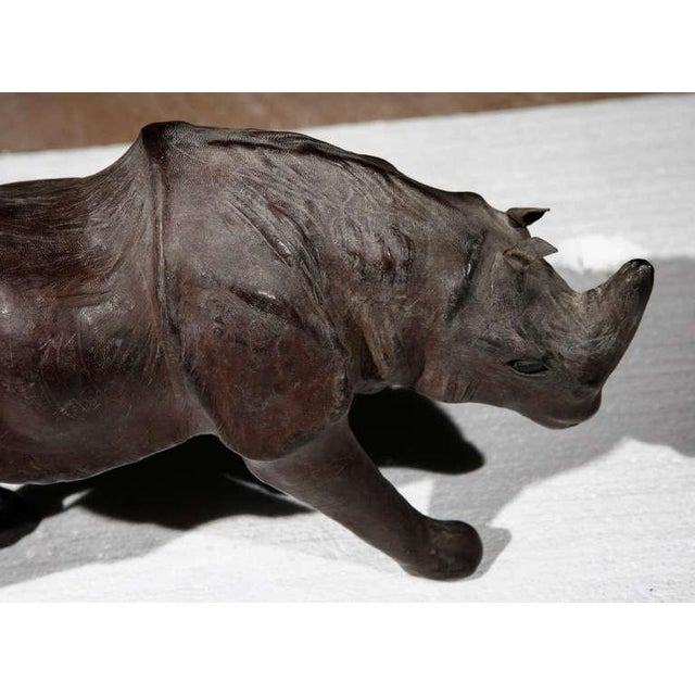 Leather Rhinos Abercrombie & Fitch Style For Sale In Los Angeles - Image 6 of 9