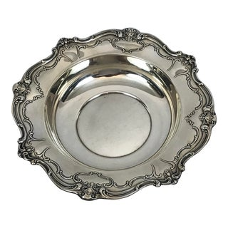 American Gorham Chantilly Sterling Silver Bowl For Sale