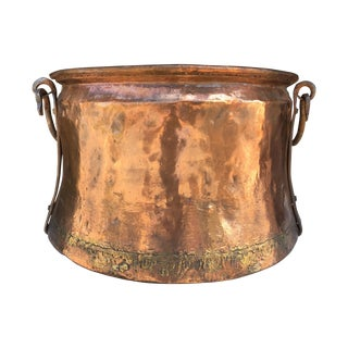 Vintage Copper Caldron For Sale
