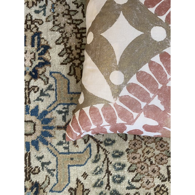 Boho Chic Flower Pillows - a Pair For Sale In Houston - Image 6 of 9