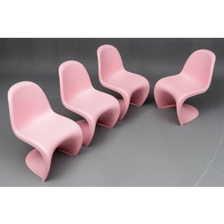 "1950s Vintage Verner Panton ""S"" Chairs- Set of 4 Preview"