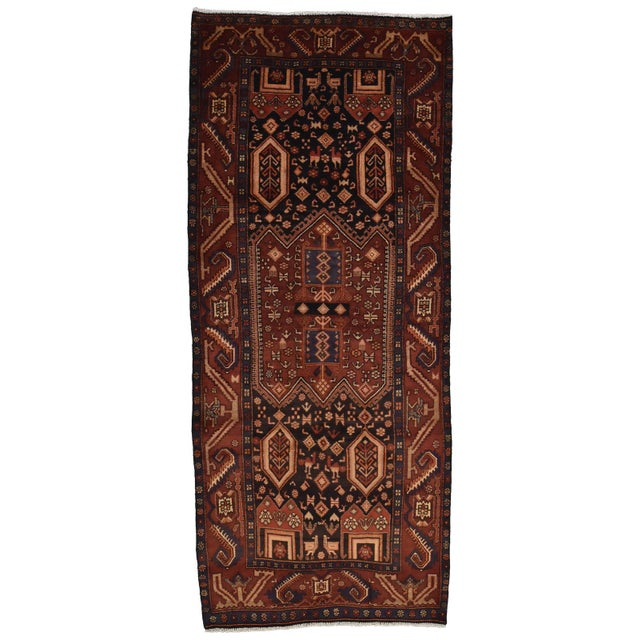 Vintage Persian Koliai Rug - 4'3'' X 10'1'' For Sale - Image 13 of 13