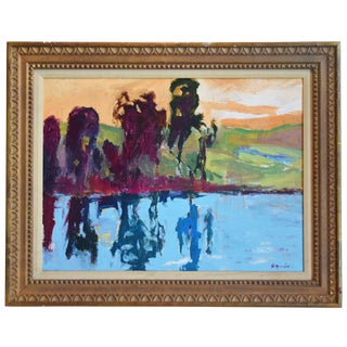 Original California Landscape Oil Painting by Juan Guzman For Sale