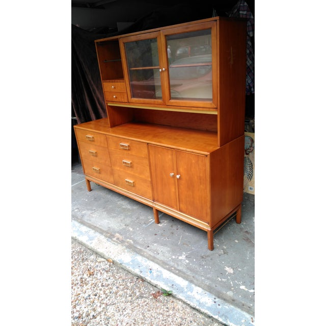 3d1a0a321cc83 Stunning Nice Mid Century solid wood Drexel Suncoast China Hutch in great  condition with minor schatches. Mid-Century Modern Kipp Stewart ...