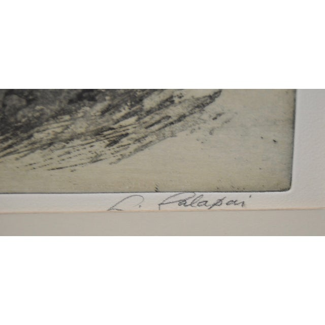 """Contemporary """"Ledges"""" Etching by Letterio Calapai For Sale - Image 3 of 7"""