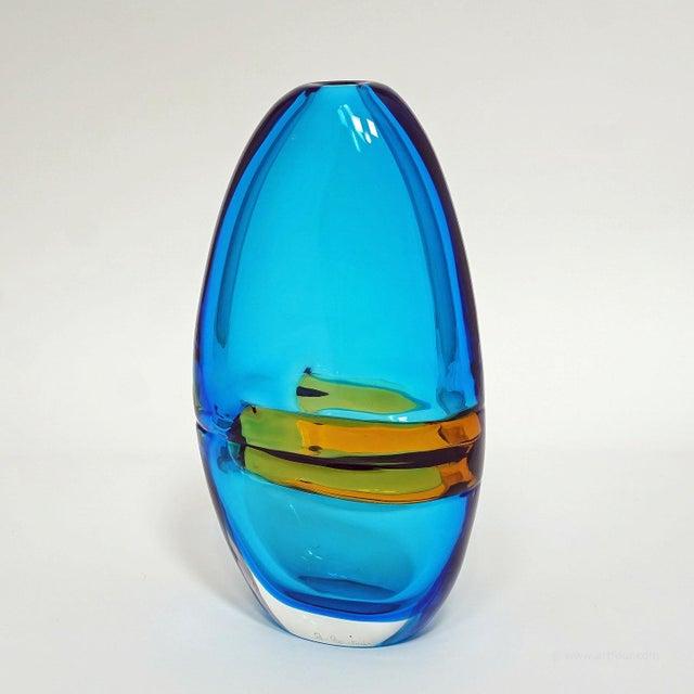 1960s Alfredo Barbini Large Vase 'Doppio Incalmo', Venice Ca. 1965 For Sale - Image 5 of 9