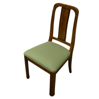 Davis Cabinet Mid Century Modern Splat Back Dining Side Chair For Sale