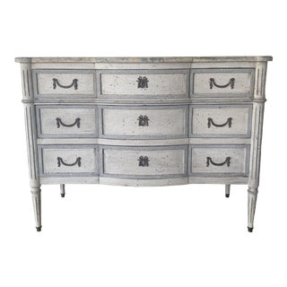 20th Century French Painted Commode For Sale