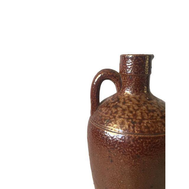 Country Brown Ceramic Southwestern Jug For Sale - Image 3 of 7