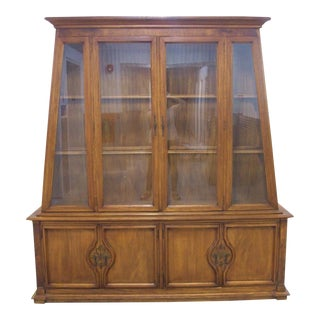 Permacraft by Sanford Furniture Company Mid Century China Cabinet For Sale
