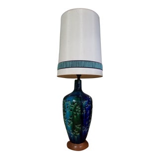Large Mid-Century Ceramic Table Lamp For Sale