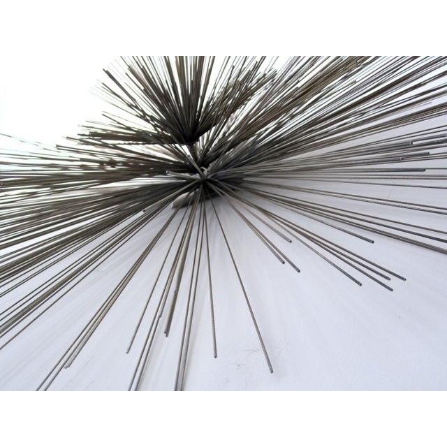 Curtis Jere Large Spoke Wall Sculpture For Sale In Miami - Image 6 of 9