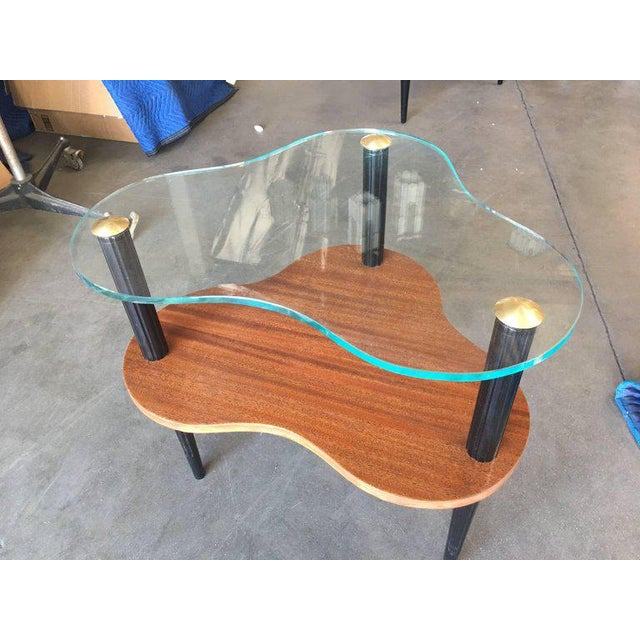 Gilbert Rohde Two-Tier Mid-Century Cloud Coffee Table For Sale - Image 9 of 10