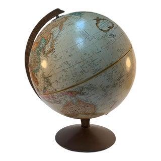 Vintage LeRoy M. Tolman Replogle Globemaster 12 Inch Globe For Sale