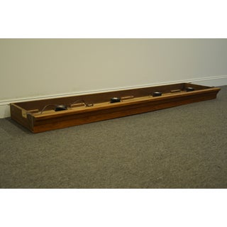 """20th Century Traditional Thomasville Furniture Serenade Collection Pier Group 80"""" Light Bridge Preview"""