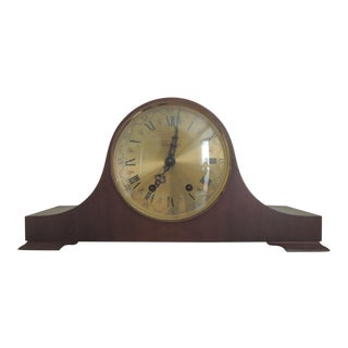 Sears Bim Bam 3 Hammer Chime 8 Day Wind Up Tambour Mantel Clock For Sale